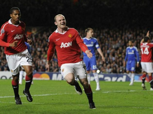 Chelsea 0 Manchester United 1: Wayne Rooney the hero for Sir Alex Ferguson