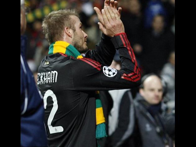 Beckham pins colours to mast by backing fans' green and gold protest