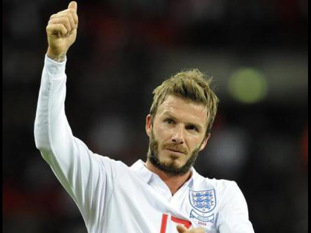 McClaren leads tributes to retiring Beckham