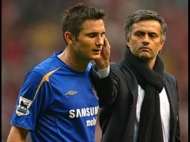 Frank Lampard coy on Jose Mourinho and Chelsea link