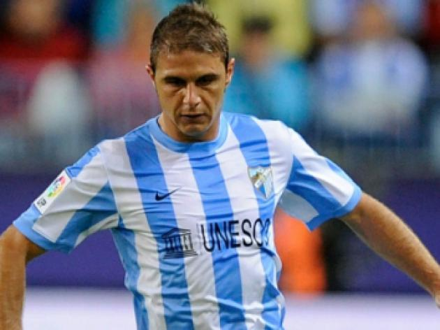 Malaga's Joaquin injured
