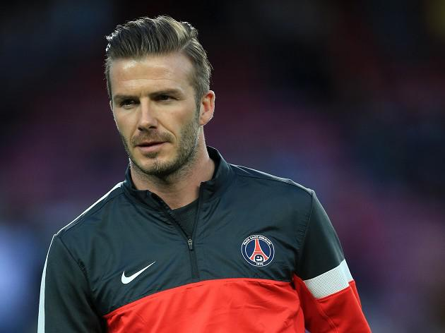 Retirement in the stars for Beckham