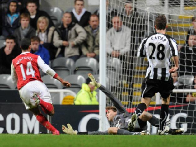 Newcastle United 0 Arsenal 4