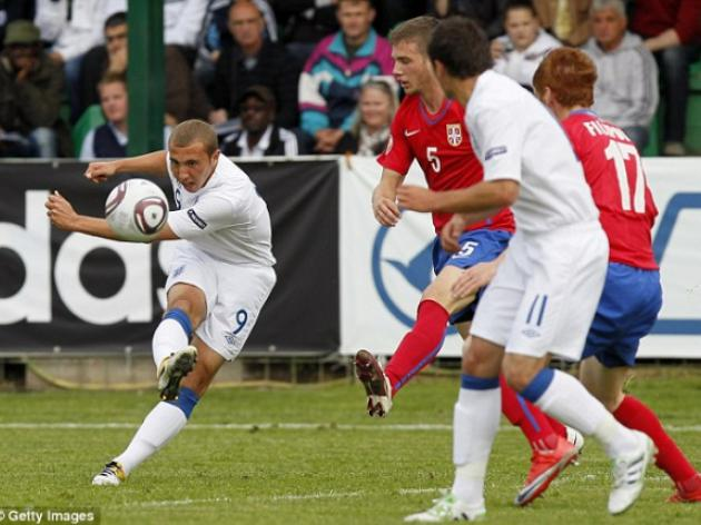 England U17s 3 Serbia U17s 0: Early goal blitz seals semi-final showdown with Dutch