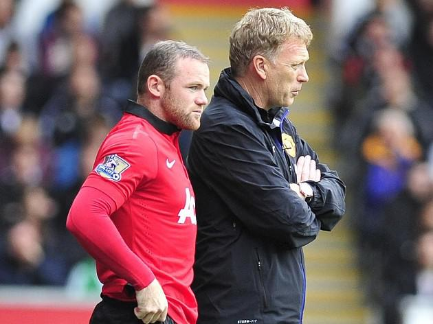 David Moyes says, 'Rooney could start against Blues'