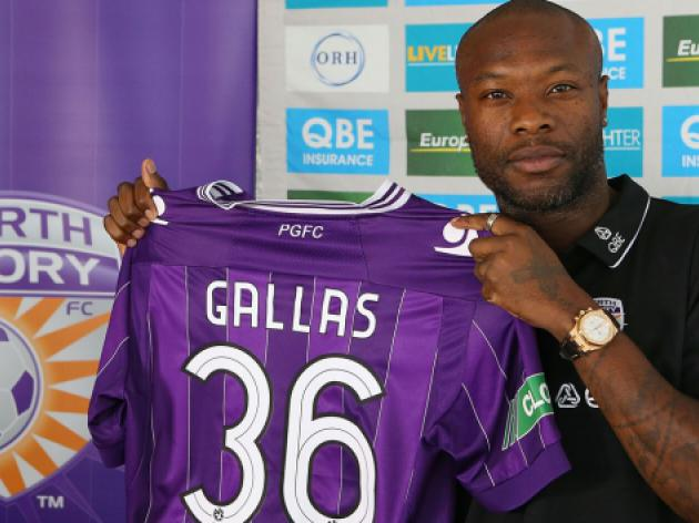 Gallas eyes playing until 40