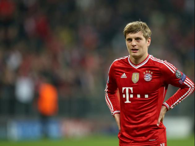 Manchester United up the ante in chase for Bayern's Kroos
