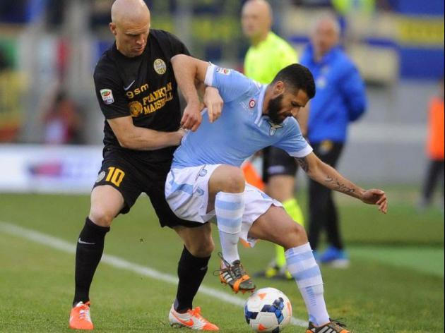 Lazio snatch draw with Verona as Europa bids dented
