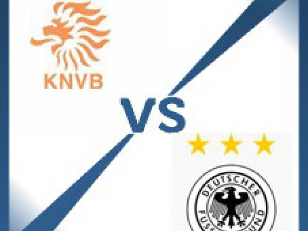 Germany away at Netherlands - Follow LIVE text commentary