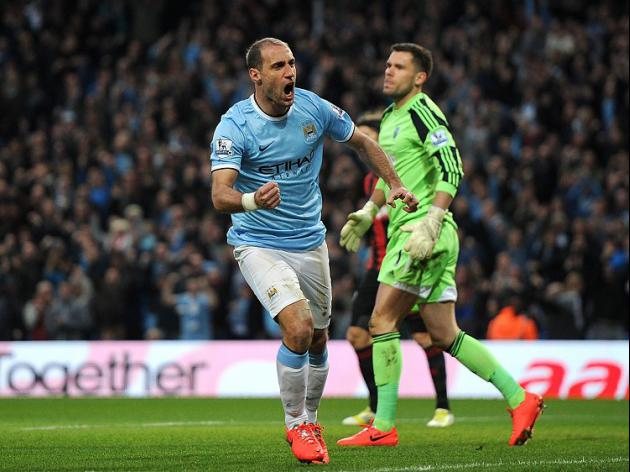 Zabaleta tips City to swipe title
