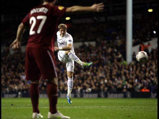 Tottenham 1-0 Rubin Kazan: Match Report