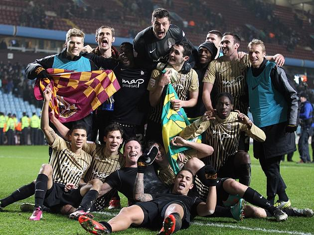 Bradford boss Phil Parkinson savours moment of history