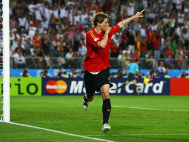 Top 10: European Championship goals - 10 - Torres vs Germany - 2008