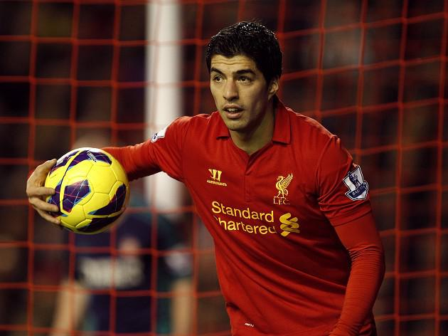 Suarez 'on the plane' to meet Reds