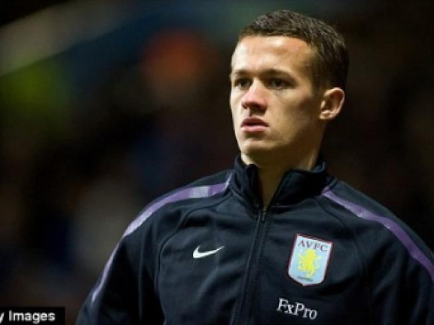 Portsmouth sign Aston Villa youngster Jonathan Hogg on loan for rest of the season