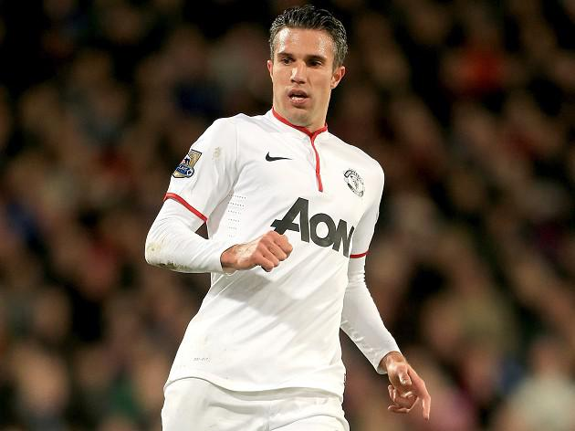 Van Persie wants to stay at United