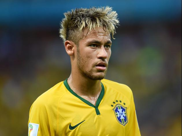 Neymar plays down pressure