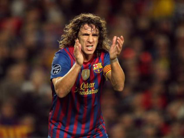 Puyol back in Barca squad after seven months out