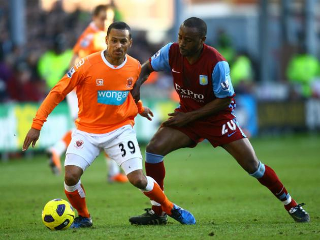 Blackpool 1-1 Aston Villa: Report