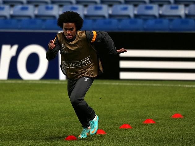 Willian ready to prove his worth