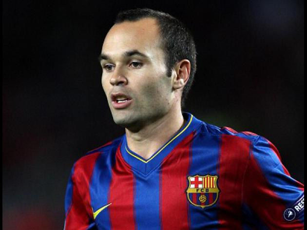 Iniesta blow for Barca