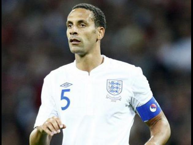England fans reported over Ferdinand chants