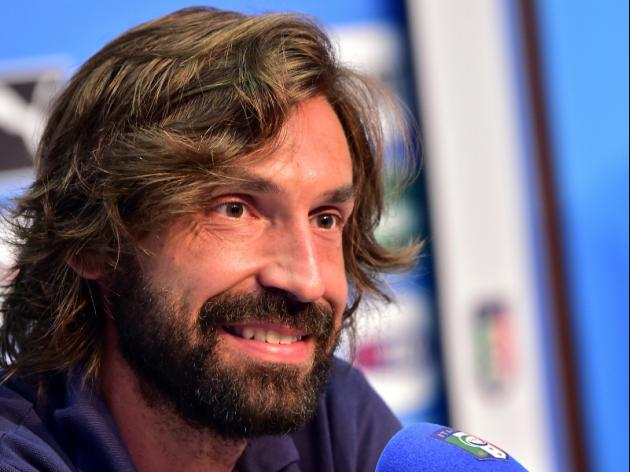 Pirlo lets his feet do talking for Italy