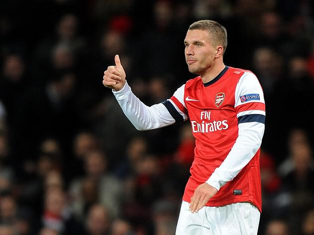 Podolski puts club before own glory