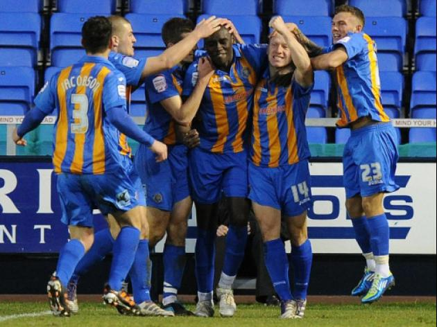 Shrewsbury 2-1 Carlisle: Match Report