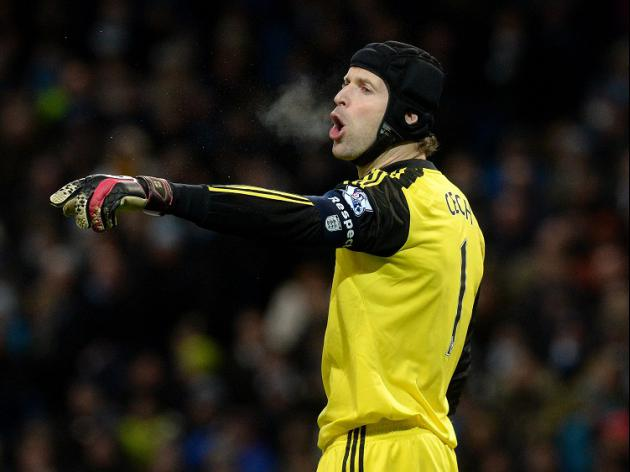 Cech prepared for Courtois battle