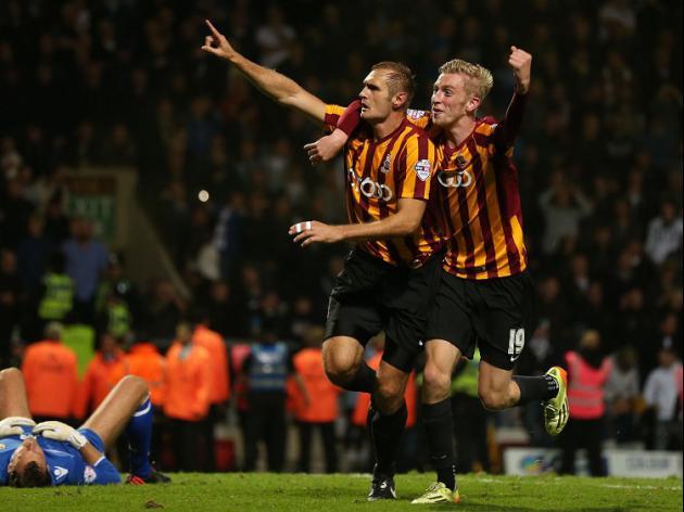 Bradford late show stuns Leeds