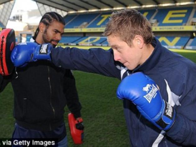 VIDEO: David Haye offers Millwall some knockout tips on how to beat Birmingham in the FA Cup
