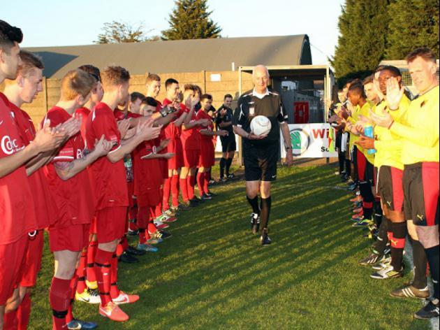 Non League stalwart hits a landmark