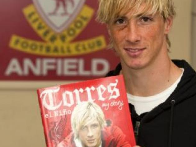 Anfield superstar Fernando Torres gets a kick out of life at Liverpool