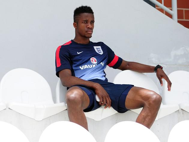 Zaha on bench for Young Lions