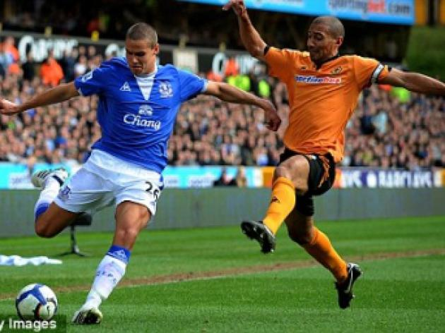 Jack Rodwell relishing Everton attacking role