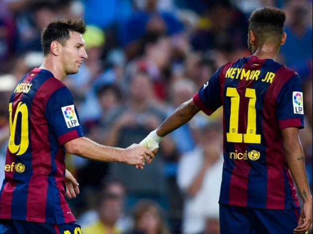 Messi tips fabulous Neymar as future Ballon dOr winner
