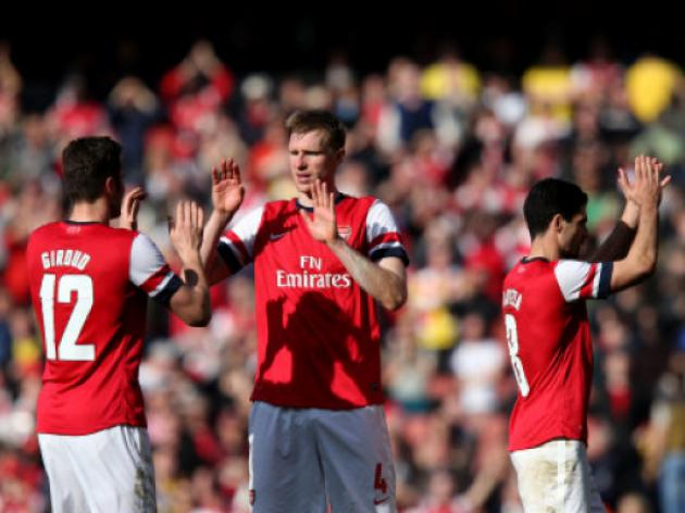 Arsenal 4-1 Everton : Gunners reach Wembley