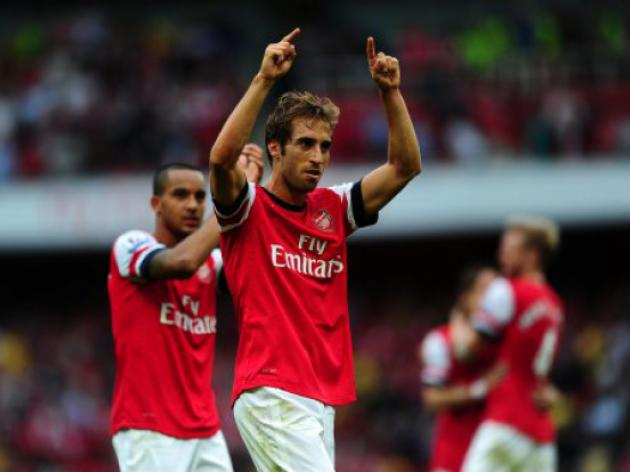 Arsenal without Flamini were like a Vegetarian Piranha