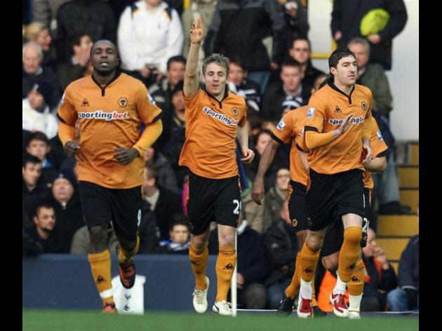Tottenham Hotspur 0-1 Wolverhampton Wanderers - Match Report