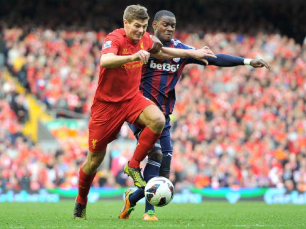 Liverpool V Stoke At Anfield : LIVE