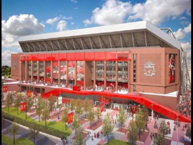 Liverpool unveil Anfield plans