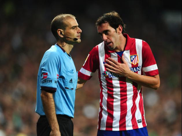 Atletico not inferior to Barca, insists Godin