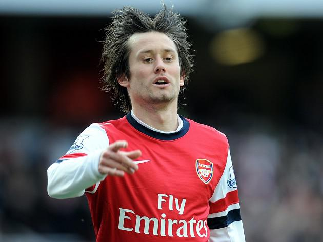Rosicky gunning for silverware