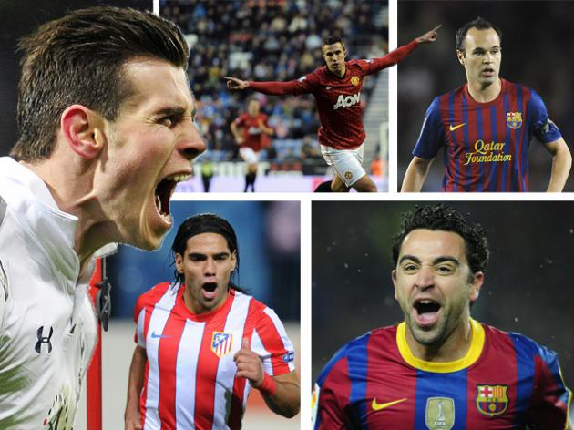 Van Persie, Bale, Xavi? Who is the world's third best player?