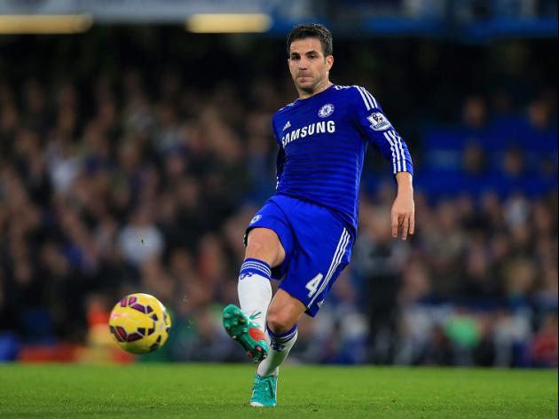 In-form Fabregas hails team-mates