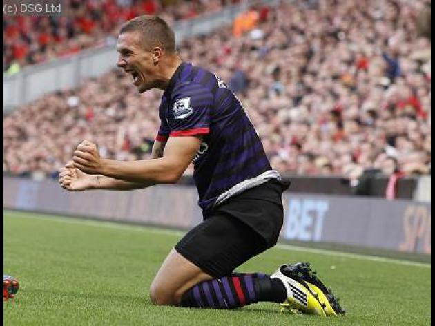 Podolski ready to replace RVP