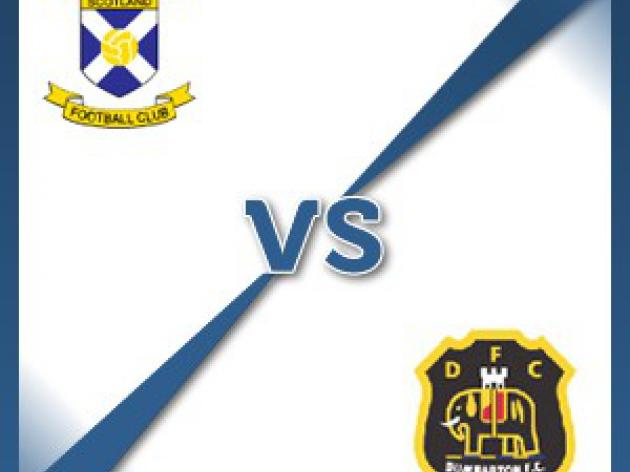 Dumbarton away at East Fife - Follow LIVE text commentary