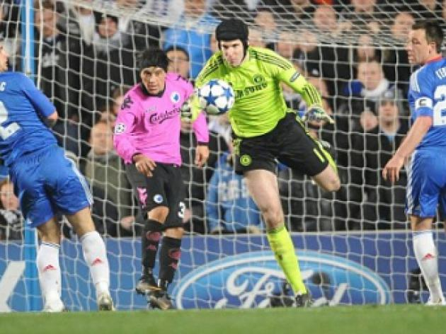 Petr Cech eyes Champions League run as Chelsea reach last eight