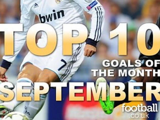 Top 10 Goals Of September 2012